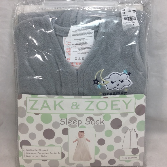 Zak & Zoey Other - Zak Zoey Size 0-12 Month Baby Unisex Sleep Sack